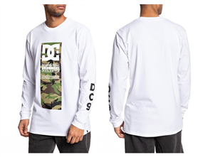 DC Protocol Long Sleeve Mens Tees Wbb0, Snow White