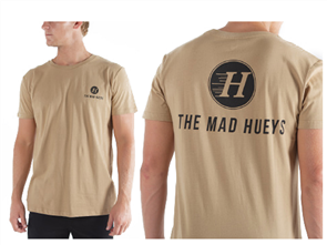 The Mad Hueys THE BASIC TEE, TAN