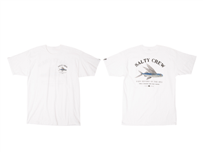 Salty Crew Flyer Short Sleeve Tee, White