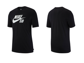 Nike SB Dri-FIT Short Sleeve Tee, Black/ White