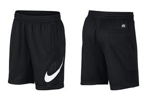 Nike SB Dri-FIT Sunday Skate Short, Black/ White