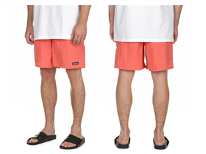 Patagonia Baggies Longs - 7 in., Spiced Coral