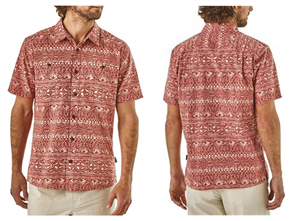 Patagonia Back Step Shirt, Tradewinds: New Adobe
