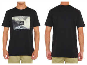 Oneill TUBETOWN SHORT SLEEVE TEE, Black Out