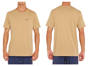 Oneill JACKS BASE SHORT SLEEVE T-SHIRT, DIRTY SAND