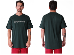 RPM Trace Short Sleeve Tee, Green