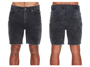 RVCA RVCA ROCKERS WALKSHORT, BLACK FADE