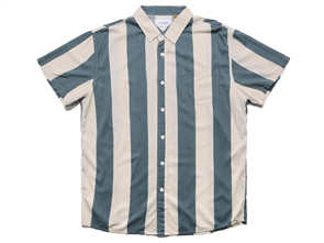 The Critical Slide Society SESSIONS SHORT SLEEVE SHIRT, BLANC