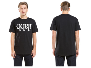 iLabb CAPSIZE SHORT SLEEVE TEE, BLACK