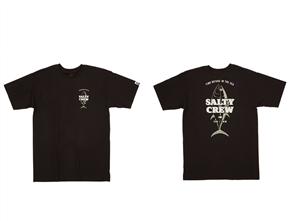 Salty Crew Up N Down Short Sleeve Tee, Black
