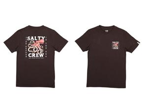 Salty Crew Squiddy Short Sleeve Tee, Black