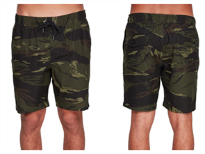 Billabong SURFTREK PERF ELASTIC WALKSHORTS, CAMO