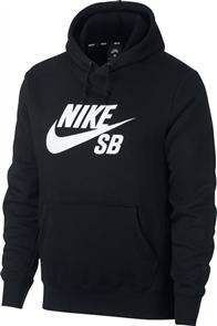 Nike SB ICON HOODIE PO ESSNL, BLACK/WHITE