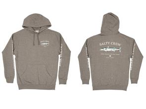 Salty Crew Slime Stick Fleece, Gunmetal Heather