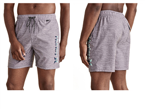 Hurley O&O Gradient Volley Boardshort, Grey