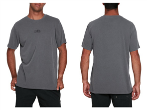 RVCA SHADOW SS TEE, SMOKE