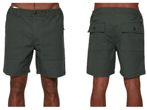 RVCA ALL TIME SURPLUS WALKSHORT, CACTUS