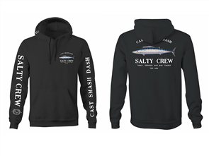 Salty Crew Wahoo Mount Hood Fleece, Black