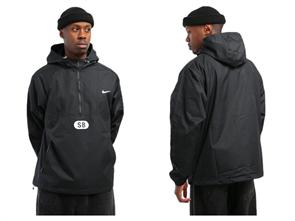 Nike SB MARCH RADNESS ANORAK JACKET, BLACK/ WHITE