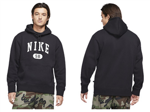 Nike SB RADNESS HOODIE, BLACK/ WHITE