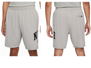 Nike SB MARCH SUNDAY SHORT, DK GREY HEATHER/BLK