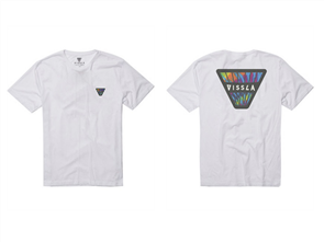 Vissla Corque Screwed Tee, White