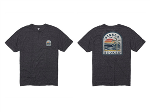 Vissla Beachbreaker Tee, Black Heather