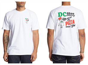 DC WE HOT SINCE SS MENS TEES, WHITE
