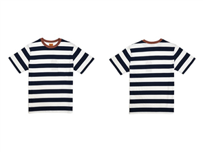 Rhythm EVERYDAY STRIPE TEE, NAVY