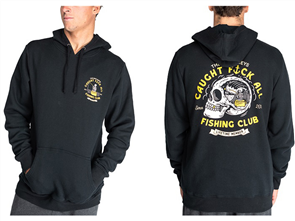 The Mad Hueys FK ALL CLUB PULLOVER, BLACK