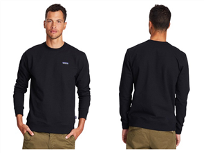 Patagonia P-6 Label Uprisal Crew Sweatshirt, Black