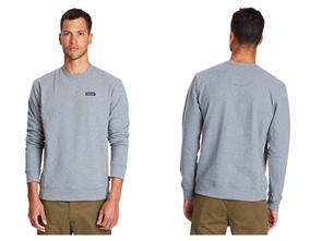 Patagonia P-6 Label Uprisal Crew Sweatshirt, Grey