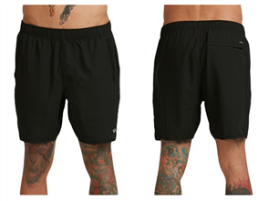 RVCA SPORT IV WALKSHORT, BLACK