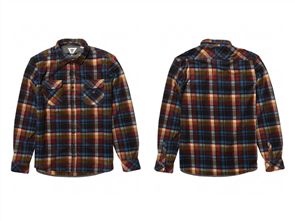 Vissla Eco-Zy LS Polar Flannel Shirt, Black
