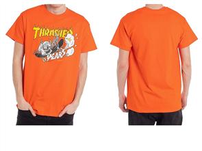 Thrasher 40 Years Neckface S/S Tee, Orange