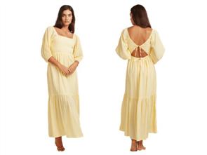 Billabong FEELING GROOVY DRESS, SUNBEAM