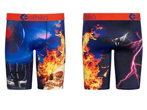Ethika Boys Flame World Staple Underwear