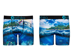 Ethika Mens Free the Trappers Mid Underwear