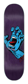 Santa Cruz SCREAMING HAND DECK 8.375IN X 32IN