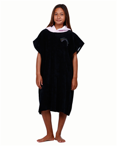 Billabong Wayback Hooded Towel, Black