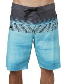 Oneill Hyperfreak Teevee Boardshort, Black Aop W Blu