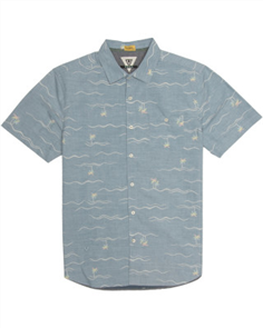 Vissla Palmere Shirt, Deep Water