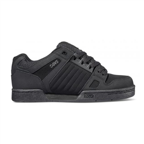 DVS CELSIUS SKATE SHOE, Black/ Black Leather