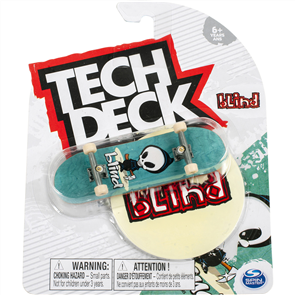 Blind TJ Rogers OG Reaper Teal 96mm Tech Deck Fingerboard