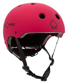Protec Jr Classic Fit Cerified Helmet, Matte Pink