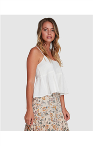 Billabong SADIE CAMI, WHITE