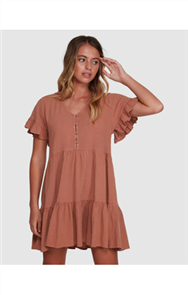 Billabong EDEN DRESS, PECAN