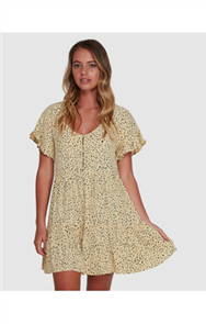 Billabong DUNES DRESS, WHEAT