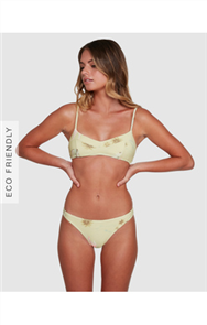 Billabong MAUI BABE TROPIC BIKINI BOTTOM, LEMONGRASS