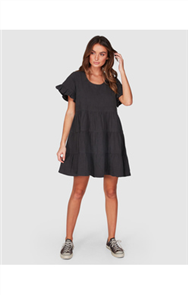 Billabong PIXIE DRESS, BLACK